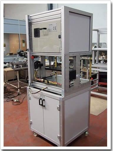Máquina automática comprobación de placas Sony